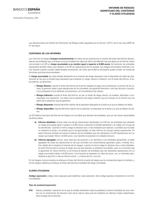 Documento explicativo de las claves utilizadas en los ...
