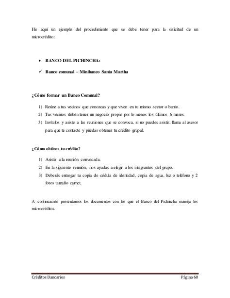 Documentos Para Solicitar Credito Banco Estado   prestamos ...