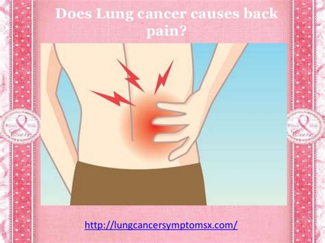 Does lung cancer causes back pain