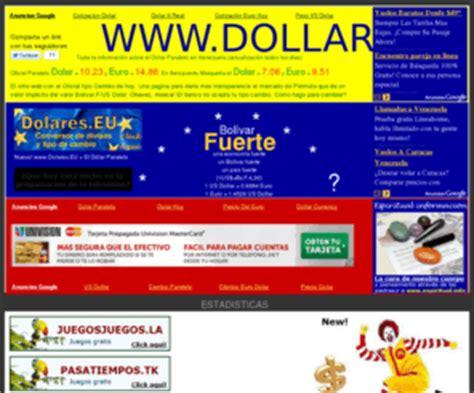 Dollar.nu: Dólar paralelo Venezuela