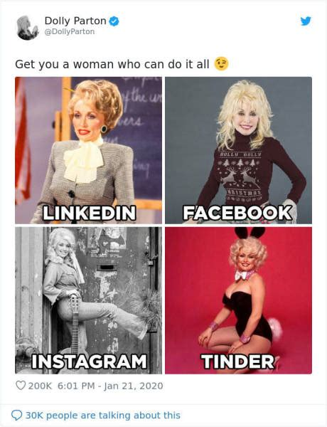 Dolly Parton Starts A New Internet Challenge, And Many ...