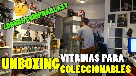 ¿Donde comprar vitrinas para coleccionables?   YouTube