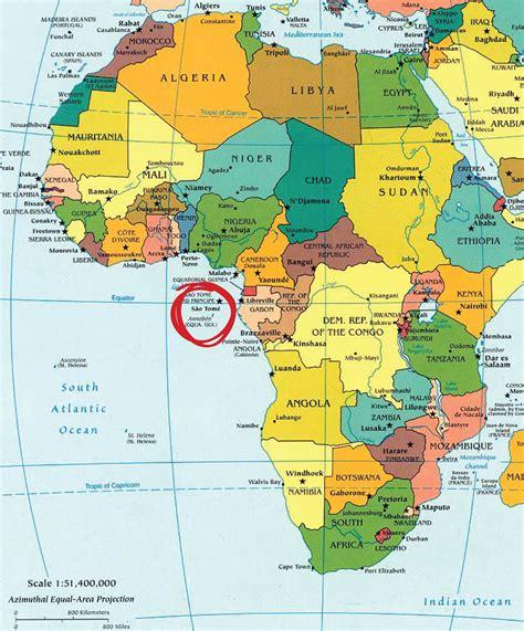 ¿dónde está Santo Tomé y Príncipe?   Mis viajes por ahí ...