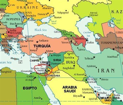 Donde esta ubicado israel en el mapamundi?   Brainly.lat