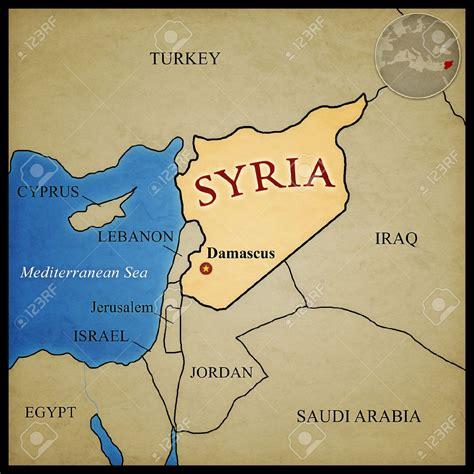 ¿Donde queda Siria? ️ » Respuestas.tips