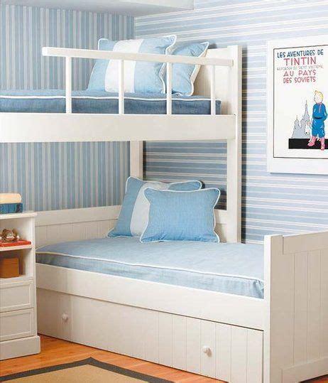 Dónde situar las camas | Literas blancas, Dormitorios y ...