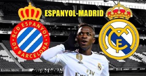 ¿Dónde Televisan el Real Madrid Hoy? Espanyol Madrid