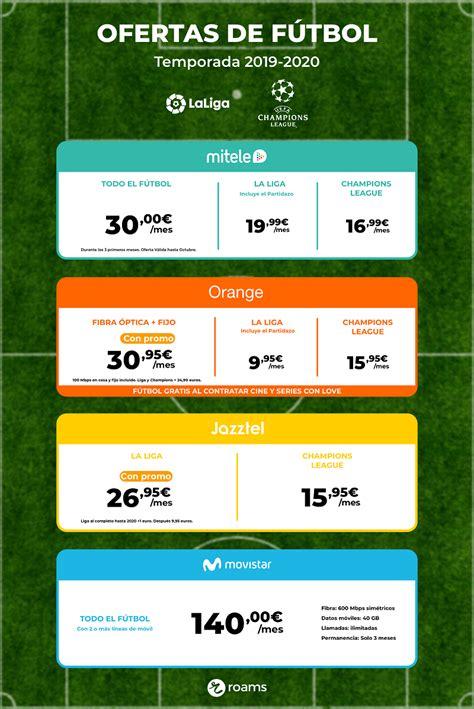 Dónde ver el fútbol de pago esta temporada y dónde es más ...