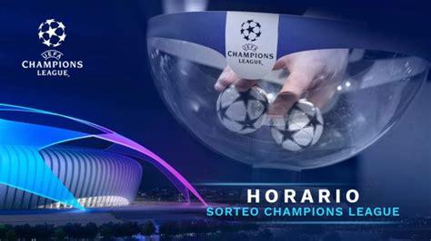 Dónde ver el Sorteo de la Champions League 2018 2019 en ...
