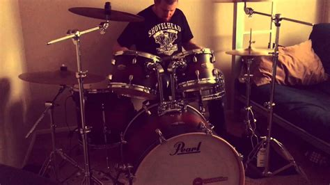 Doobie Brothers Long Train Running drum cover   YouTube