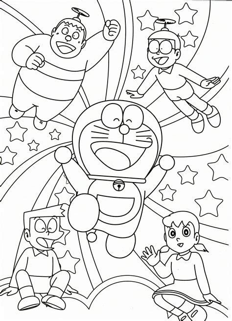 Doraemon   Dibujos para imprimir y colorear