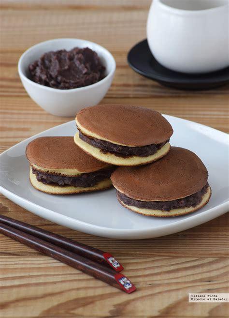 Dorayakis japoneses. Receta de postre fácil y sencilla