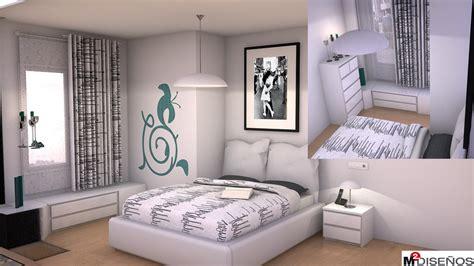 Dormitorio de matrimonio de estilo nórdico. | M² DISEÑOS