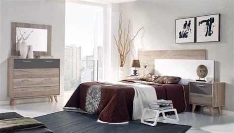 Dormitorio de matrimonio estilo nórdico, low cost. El Tavolino