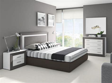 Dormitorio de matrimonio moderno y barato
