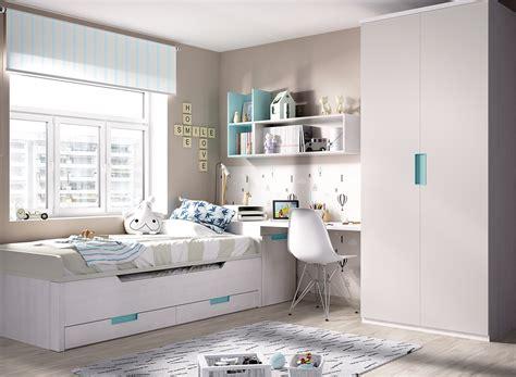 Dormitorio juvenil cama compacta H113   Casaidecora.com