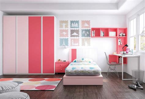 Dormitorio juvenil cama tatami.