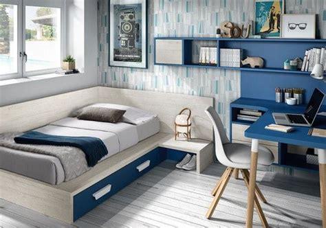 #Dormitorio juvenil con #cama #tatami   Dormitorios ...