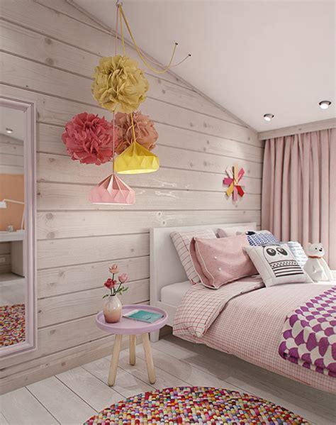 Dormitorio juvenil en la buhardilla