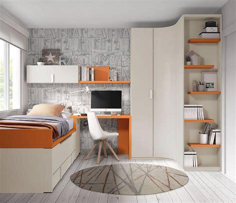 Dormitorio juvenil JDM012   Muebles Lara