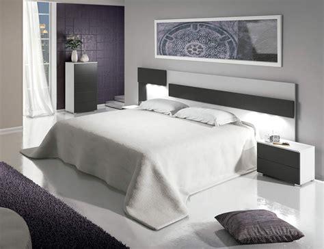 Dormitorio matrimonio moderno cabecero leds sinfonier ...