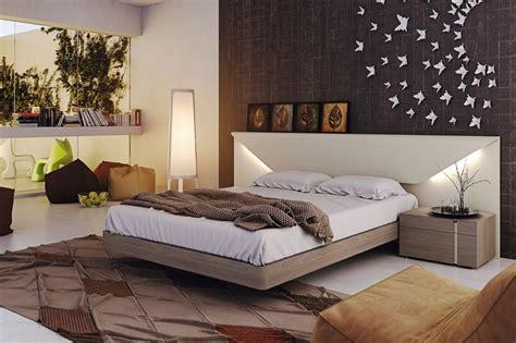 Dormitorio moderno, lacado, con iluminación. | Dormitorio ...