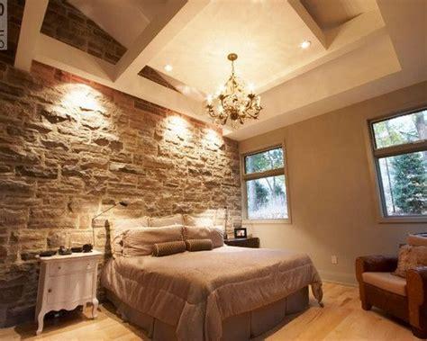dormitorio pared de piedra en 2019 | Revestimiento de ...