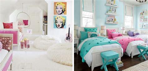 Dormitorios compartidos para niñas con estilo cool