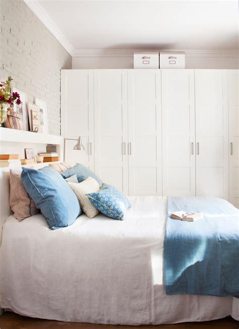 Dormitorios decorados en blanco