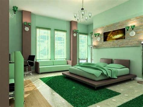 Dormitorios en color verde menta   Ideas para decorar ...