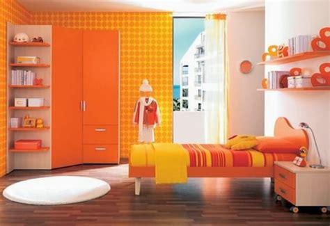 Dormitorios en naranja y amarillo   Ideas para decorar ...