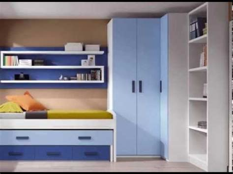dormitorios infantiles con armarios normales y en esquina ...