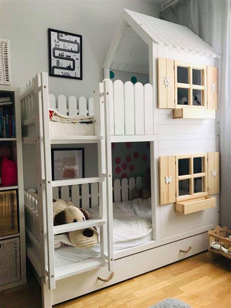 Dormitorios infantiles con literas: los mejores hacks e ...