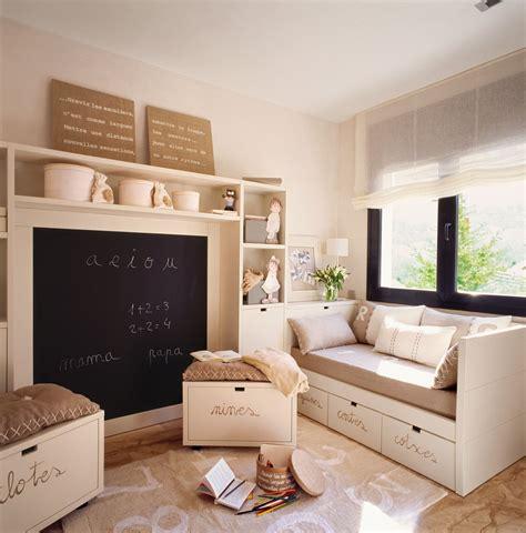 Dormitorios infantiles pequeños: sácales partido