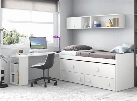 Dormitorios juveniles catalogo Muebles La Fabrica 2018 ...