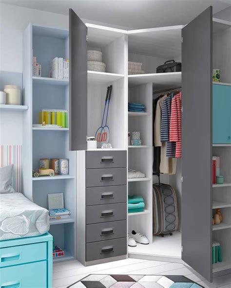 Dormitorios juveniles con cama nido compacta ...