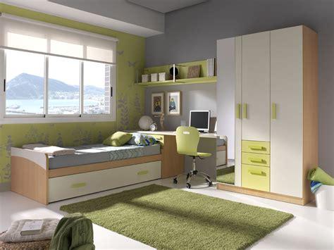 Dormitorios juveniles en color verde   Muebles Orts Blog