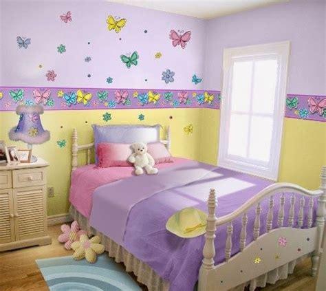 Dormitorios para niñas con mariposas   Dormitorios colores ...