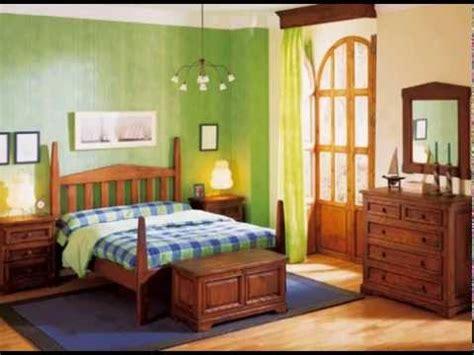 Dormitorios rusticos con camas y armarios   YouTube