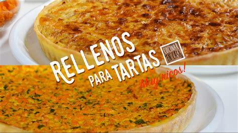 Dos Rellenos para Tartas   Tarta de Cebollas   Tarta de ...