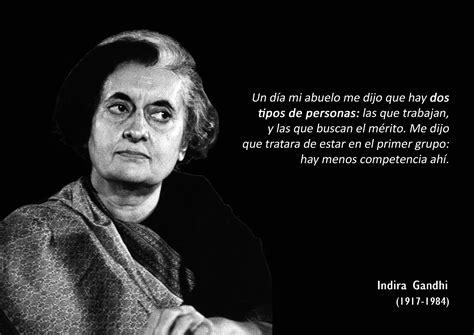 Dos Tipos de Personas  [Indira Gandhi] | Pensamiento ...