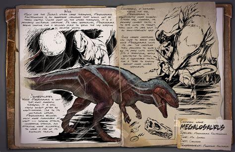 Dossier: Megalosaurus   Official Media   ARK   Official ...