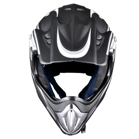 DOT Approve Motocross Offroad Dirt Bike Helmet Adult Full ...