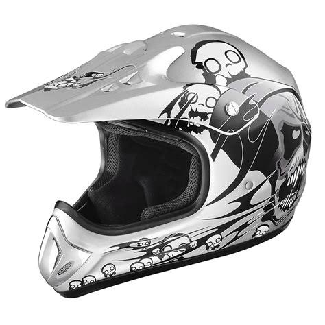 DOT Approve Motocross Offroad Dirt Bike Helmet Adult Full ...