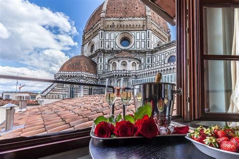 Double and Single Room with view on Florence   Hotel Duomo ...