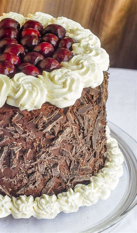Double Chocolate Black Forest Cake. An ultimate ...