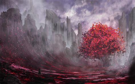 Download Anime Landscape Wallpaper for desktop, mobile ...