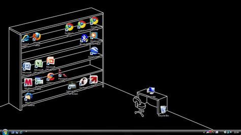 Download AutoCAD Shelf and Desk Wallpaper To Get You Organized