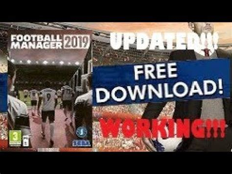 Download Football Manager 2019 PC + Full Game Crack for ...