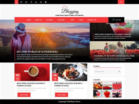Download Free Advance Blogging WordPress theme ...